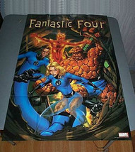 36 x 24 Marvel Comics Fantastic Four promotional comic book promo poster:3 x2 ft - $29.69