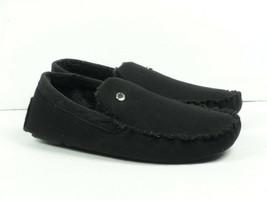 Steve Madden Men's Fire Black Moccasin Slippers - Choose Size - $19.98