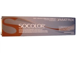 Matrix Socolor 6RR+ Light  Brown Red Red Plus 1 Tubes Professional   Haircolor - $11.83