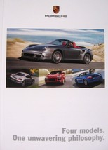 2008 Porsche Brochure, 911 Boxster Cayman Cayenne Coupe Cabriolet 4S Tar... - $12.16