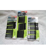 Goody Black Stay Tight Hold Metal Bobby Hair Pins Bobbies Secure Style B... - $8.00+