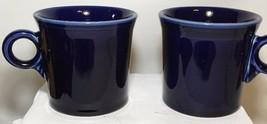 *Fiesta Round O Handled Mugs Coffee cups -  Cobalt BlUE G1 - $8.99