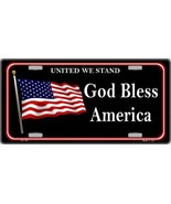 God Bless America Metal Novelty License Plate LP-138 - £12.04 GBP
