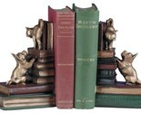 Bookends Bookend Dog And Cat Playful Friends Dogs Cast