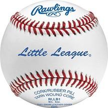 Rawlings RLLB1BT24 Little League Competition Grade Leather Dozen Baseballs - $58.77