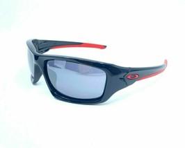 Oakley Valve Sunglasses OO9236-22 Polished Black Frame W/ Black Iridium Lens NEW - $78.62