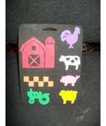 """Simply Stamps """"Down on the Farm"""" Foam Stamp - $12.82"""