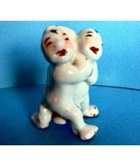 Antique Chinese Porcelain Figure of Wrestling T... - $135.00