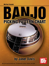 Banjo Picking Pattern Chart/Bluegrass/Janet Davis - $8.99