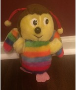 Vintage Colorful Rainbow Bee Plush Toy Superior Toy and Novelty - $49.99