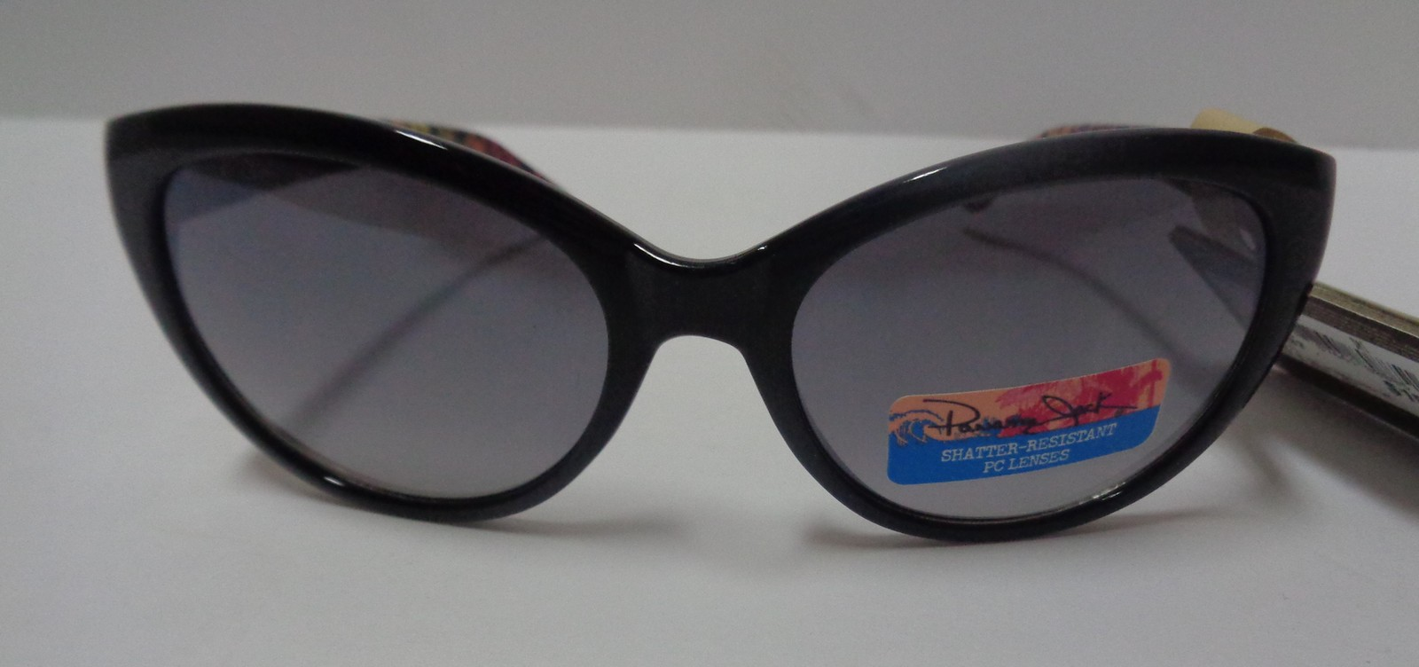 Panama Jack Sunglasses NWT Black Pink Animal Print 100% UVA UVB Protection