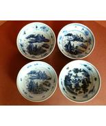 Antique Chinese Porcelain Bowls Blue & White Ce... - $110.00