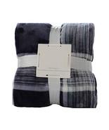 Panda Superstore Flannel Throw Blanket Living Room Summer Blanket Navy, ... - $42.49