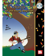 Banjo For The Young Beginner/Alan Munde/Bluegrass Banjo/Book w/CD - $12.99