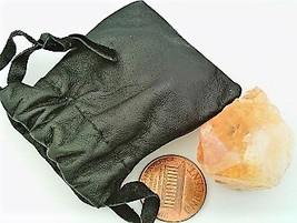 Citrine Crystal Specimen Keepsake Pouch 7 - $5.33