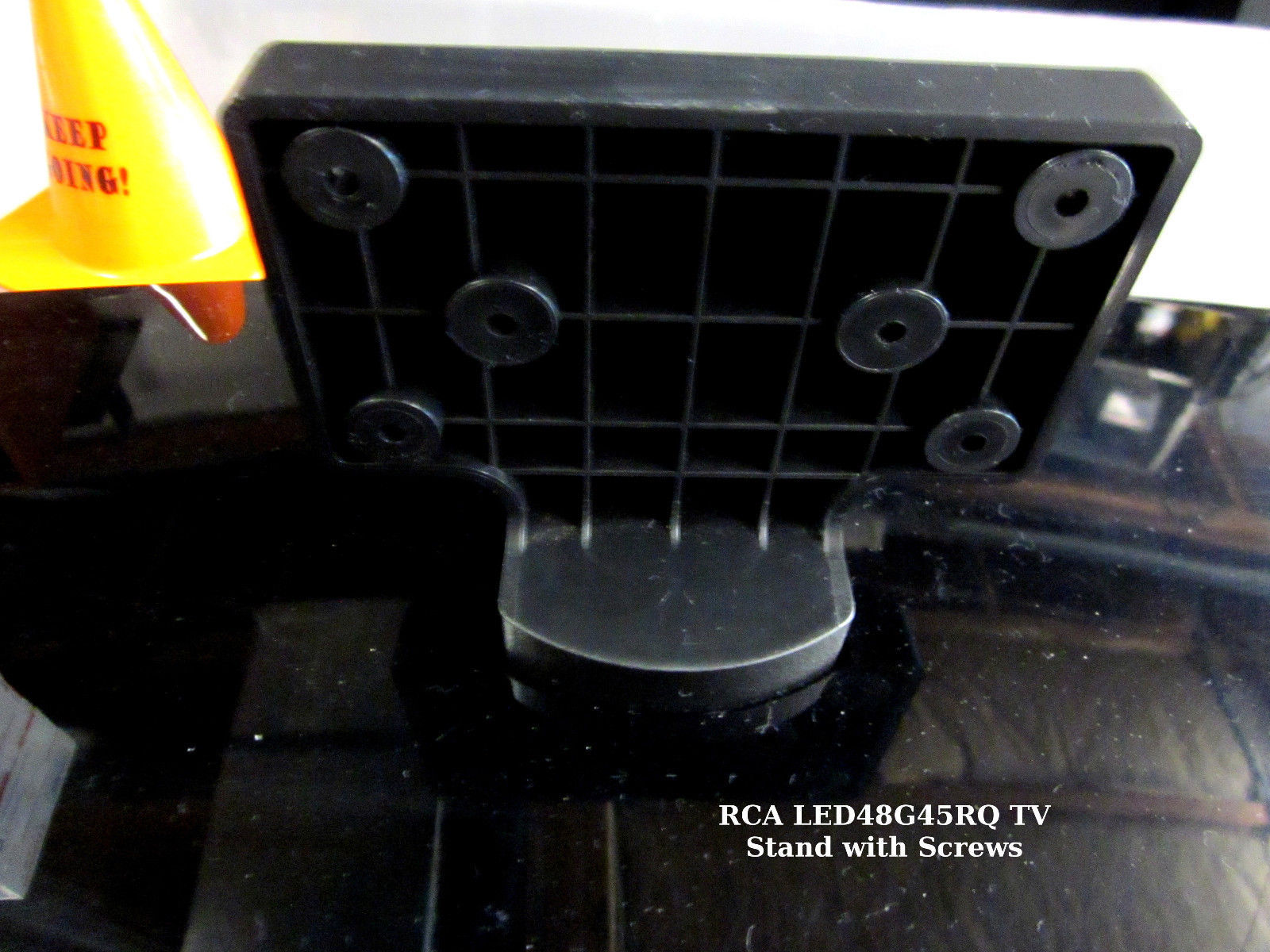 RCA LED48G45RQ TV Stand with Screws