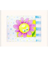 Sunflower Brightly Colored Acrylic on Canvas Boar - $35.00