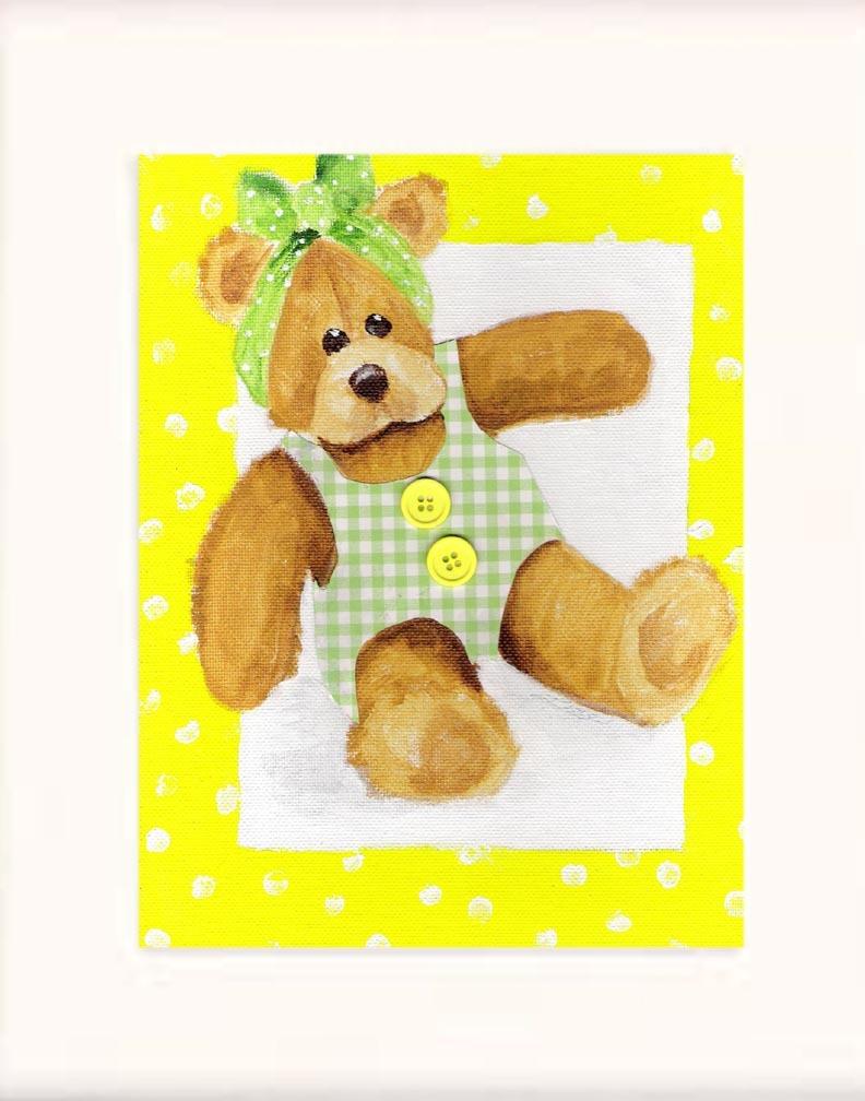 Teddy girl 2