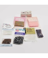 Mixed 8 Piece Lot Of Beads For Crafting Jewelry Making  - $8.73