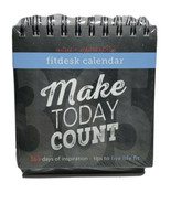 Fitlosophy Fitdesk Calendar 365 Days Of Inspiration Tips Make Today Coun... - $14.80