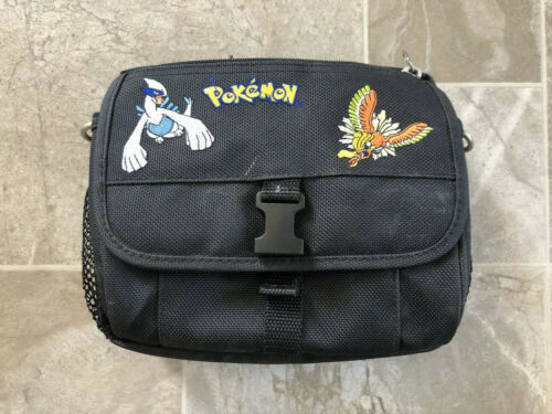 Primary image for Nintendo Gameboy Color Authentic Pokemon Gold Silver Carrying Carry Case Black!