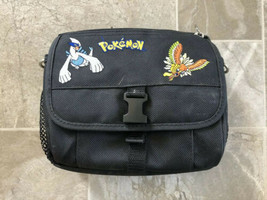 Nintendo Gameboy Color Authentic Pokemon Gold Silver Carrying Carry Case Black! - $37.39