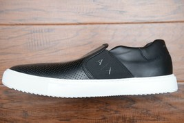 Armani Exchange A|X Mens Black Perforated Slip-on Lightweight Sneaker US 7 EU 40 - $59.39