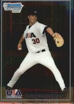 2010 Bowman Chrome USA Baseball #BC20 Asher Wojciechowski NM-MT /999  - $4.23