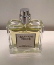 Vera Wang Embrace Green Tea And Pear Blossom 1 OZ New Tester -No Box~No ... - $15.85