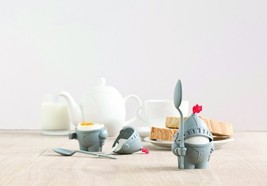 Peleg Design Arthur Egg Cup kids Kitchen Dining Bar Knight Decor Home br... - $23.80 CAD