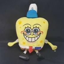 Spongebob Squarepants Nickelodeon Plush Stuffed Going To Work Krusty Cra... - $15.83