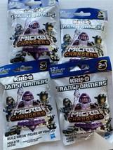 4 Hasbro Kre-O Transformers Micro Changers Kreon Figure/Vehicle Collection 2 - $20.38