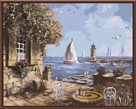 DRAWJOY Frameless Picture Painting By Numbers Oil Painting - $33.95