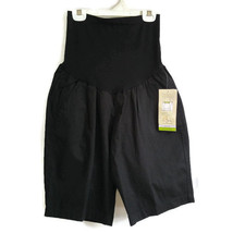 Oh Baby by Motherhood Black Maternity Shorts Size Medium Secret Fit Bell... - $14.99