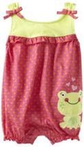 Baby Togs Baby Girls Infant Frog Romper - $20.00