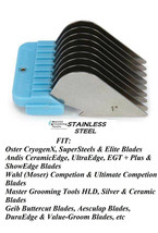"""MASTER GROOMING TOOLS 1""""Stainless Steel Attachment Blade COMB Fit Oster ... - $6.71"""
