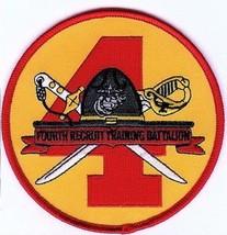 USMC 4th Recruit Training Battalion Patch for FEMALE Marines 4th RTB - $11.87