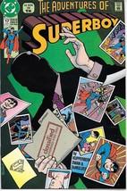 The Adventures of Superboy Comic Book #17 TV DC Comics 1991 VERY FINE+ U... - $2.50