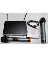 Pro Wireless Microphone Mic Professional Audio Equipment Systems Set Of ... - $56.99