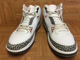 VTG Nike Air Jordan 2.5 White Red Cement Gray Black SZ12 331987-161 Varsity LE - $69.30