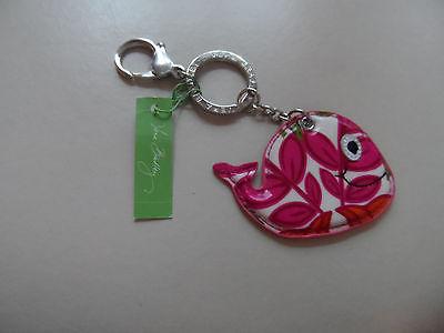 Vera Bradley Lilli Bell Seashore fish keychain NWT  (#2)