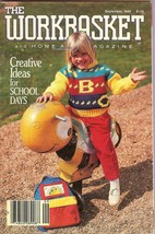 The Workbasket and Home Arts Magazine Knit Crochet Vintage Sept 1989 64 pages - $4.47