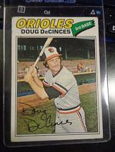 1977 Topps #216 Doug DeCinces Baltimore Orioles Baseball Card ~ EX - $1.15