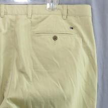 TOMMY HILFIGER Rayas Pantalones Informales 42 x 32 amarillo 100% Algodón - $24.44