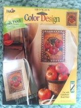 Tulip brand Iron on transfers  -  CCT44 Tomato Seeds  by Lillian Eglesto... - $5.00