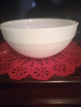 Fire King Milk Glass Colonial Mixing Bowl. - $18.00