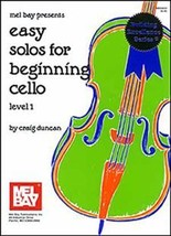 Easy Solos For Beginning Cello/Book w/CD Set - $7.99
