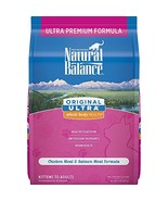Natural Balance Original Ultra Whole Body Health Dry Cat Food, Chicken M... - $8.53