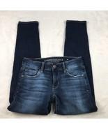American Eagle AE Women's Dark Wash Super Stretch Skinny Jeans Size 0 Short - $19.24