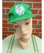 Vintage 1990s Boston Celtics Hat Adjustable Unisex New w/Official NBA Tag - $22.75